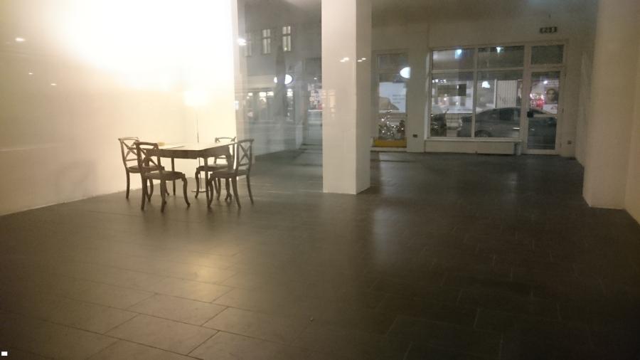 The empty store